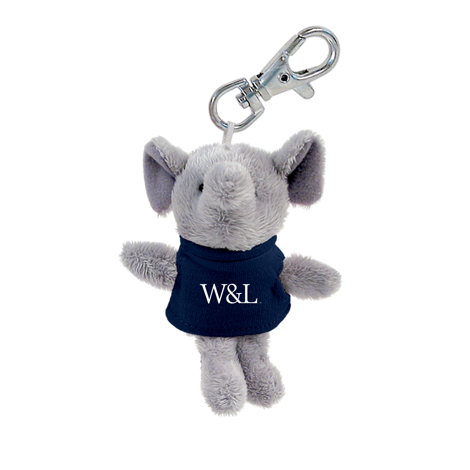 Image For Elephant Plush Keychain