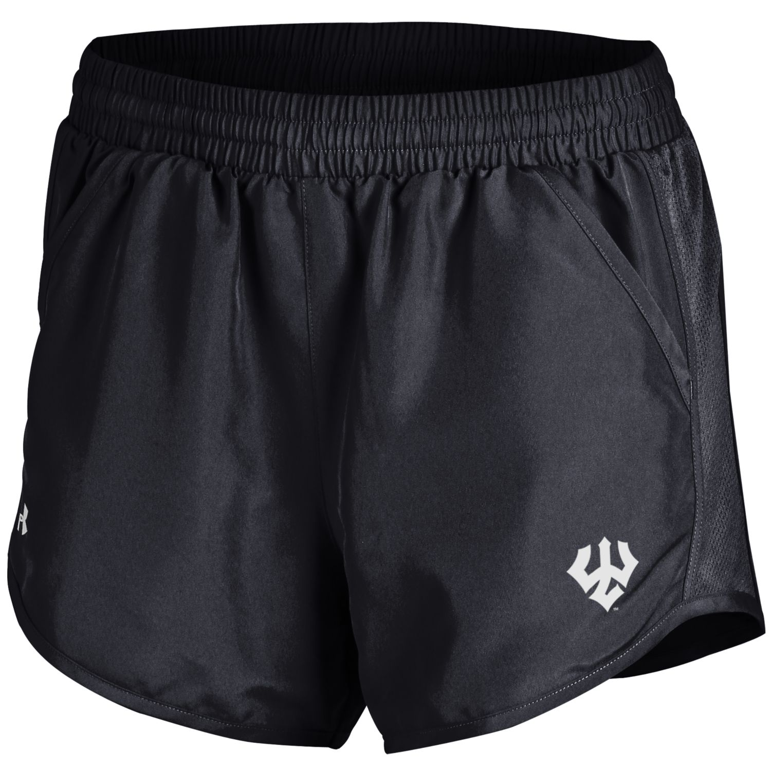 Image For Under Armour Fly Short, Black or Grey