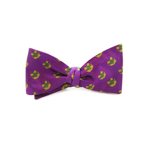 Image For Dogwood Black Lambda Chi Alpha Bow tie