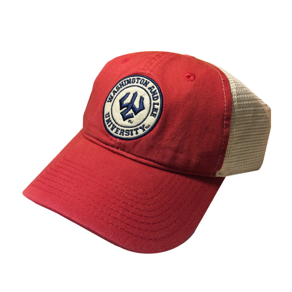 Image For Vintage Trucker Hat, Red