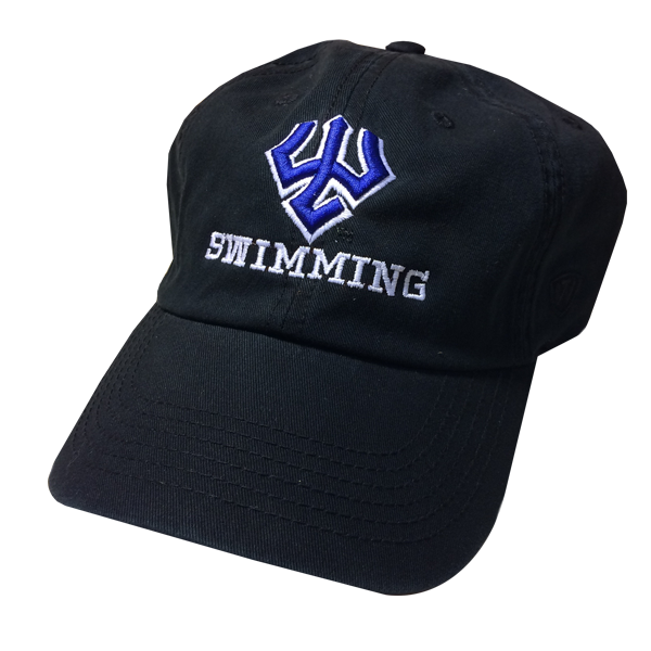 Image For Swimming Hat, Black