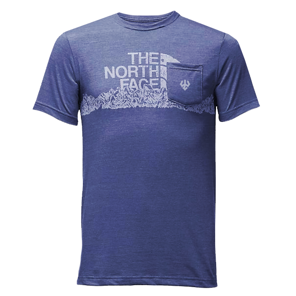 Image For The Northface Mountain Logo Tee