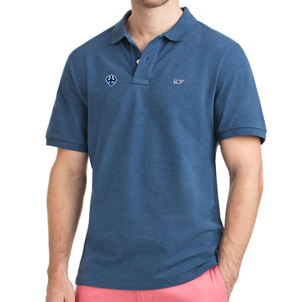 Image For Vineyard Vines Stretch Pique Polo
