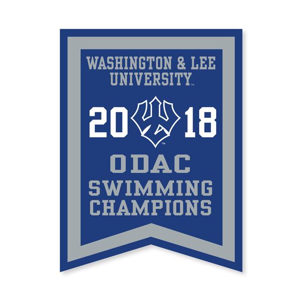 Image For 2018 ODAC Swimming Banner