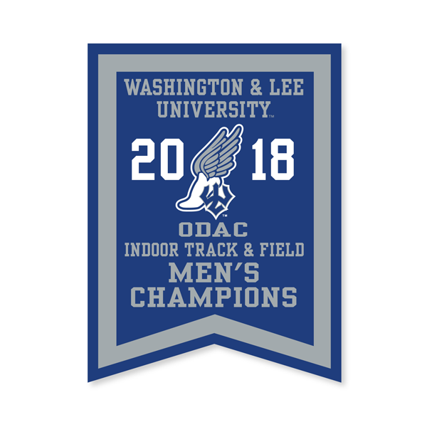 Image For 2018 Men's Indoor Track Banner
