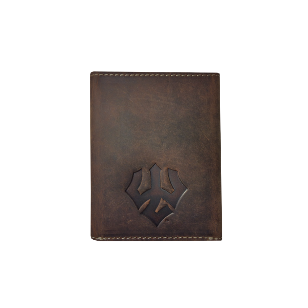 Image For Canyon Leather Grove Tri-Fold Wallet