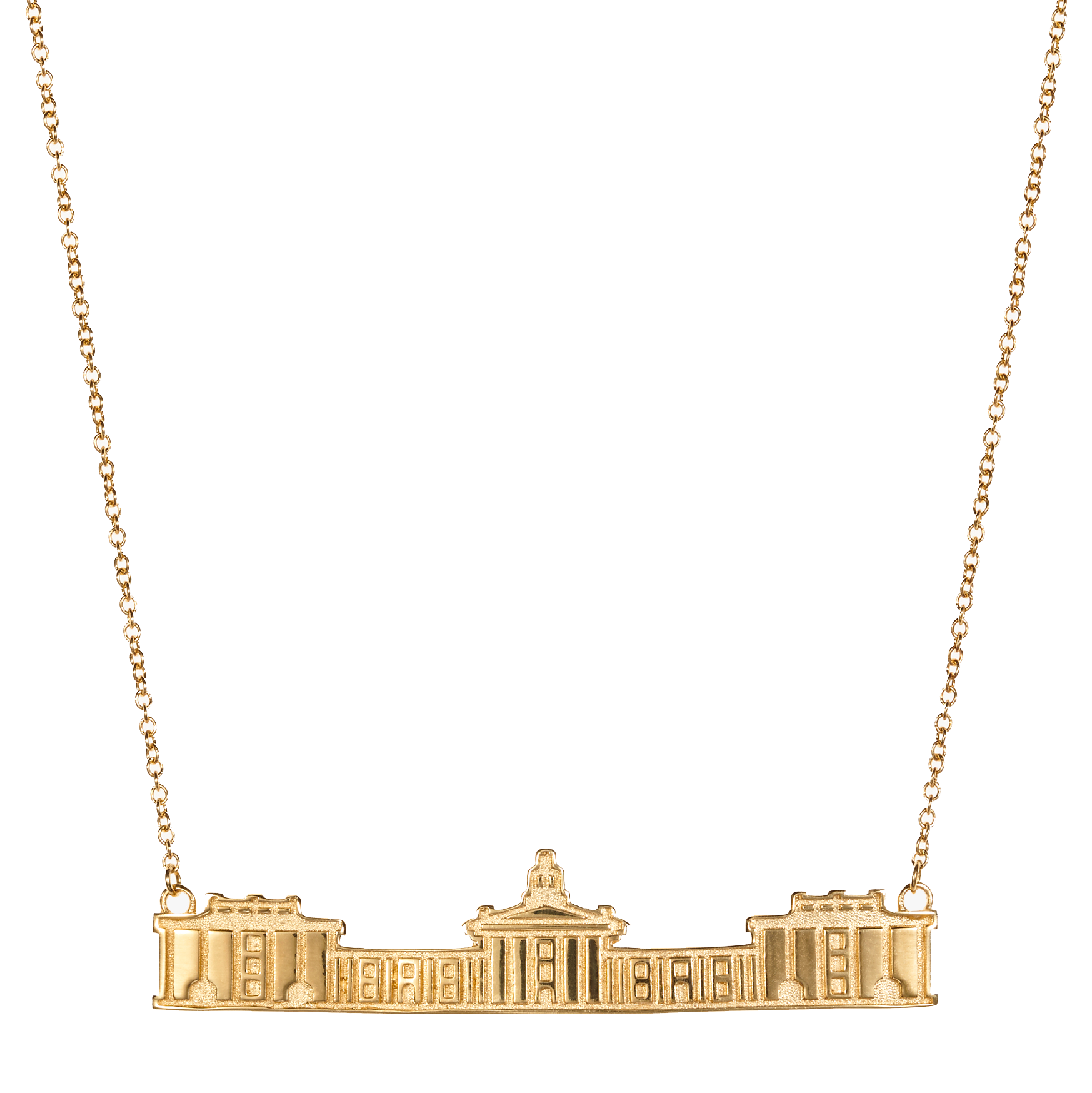 Image For Kyle Cavan Colonnade Necklace, Gold