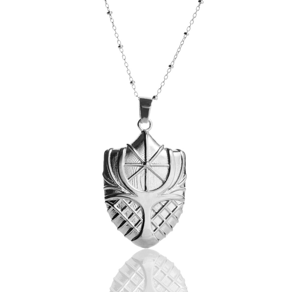 Image For Lee Chapel Necklace by Kyle Cavan, Silver (Petite)