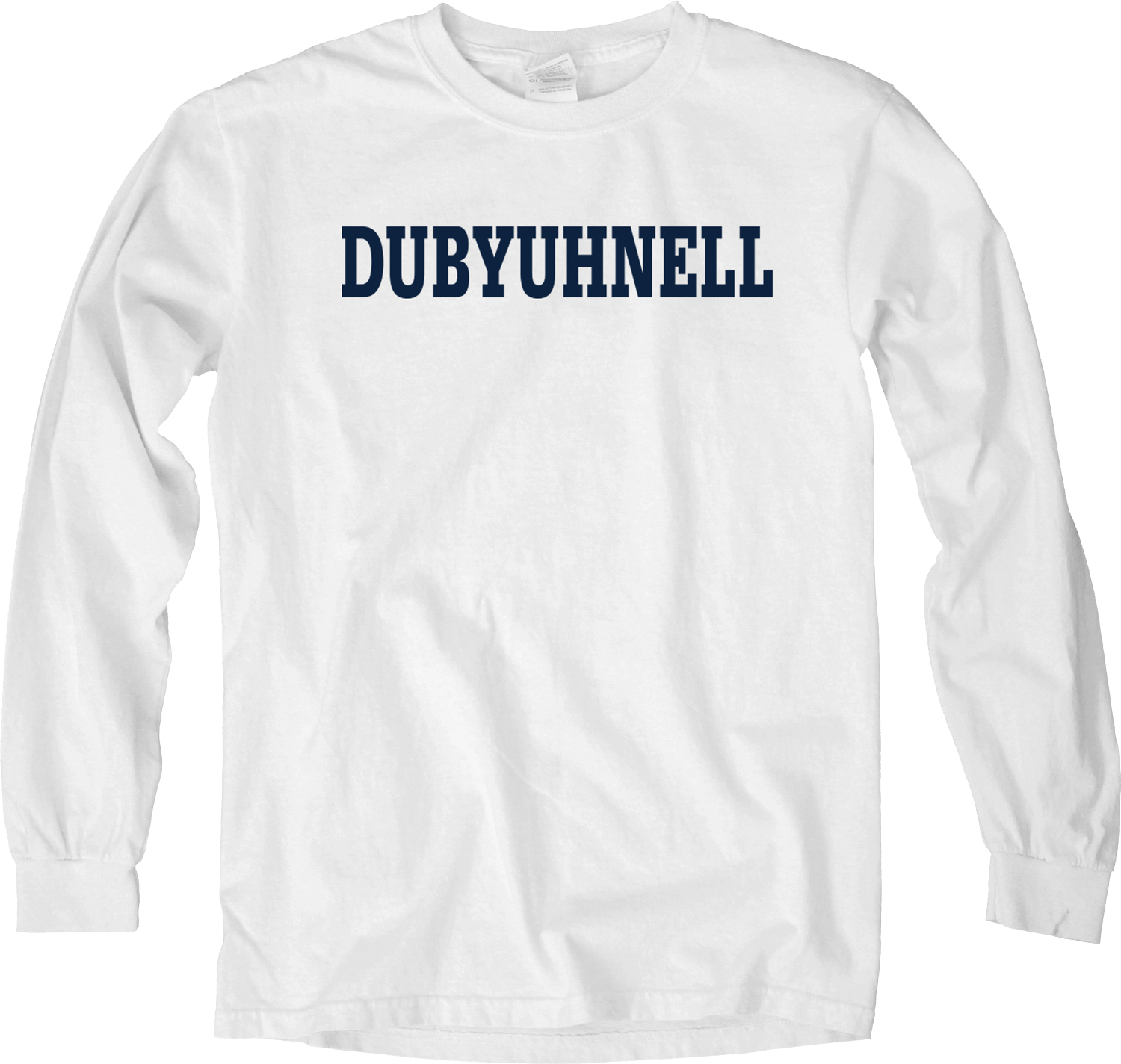 "Image For Blue 84 ""Dubyuhnell"" Long Sleeve Tee"