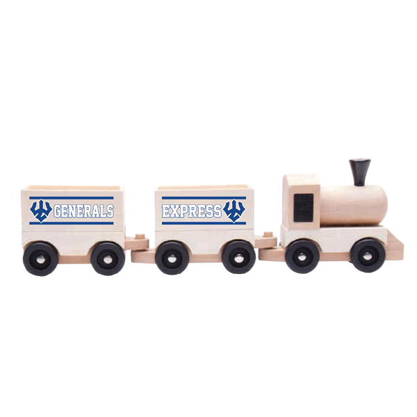 Image For Generals Express Wooden Toy Train
