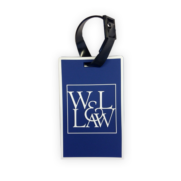 Image For Law Luggage Tag