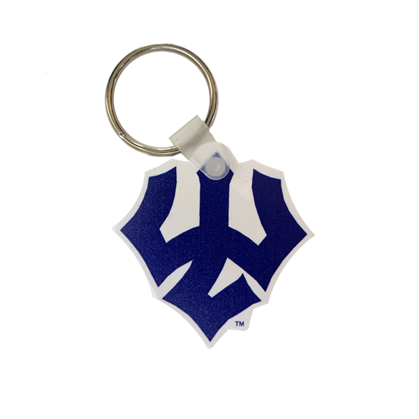 Image For Vinyl Trident Keychain
