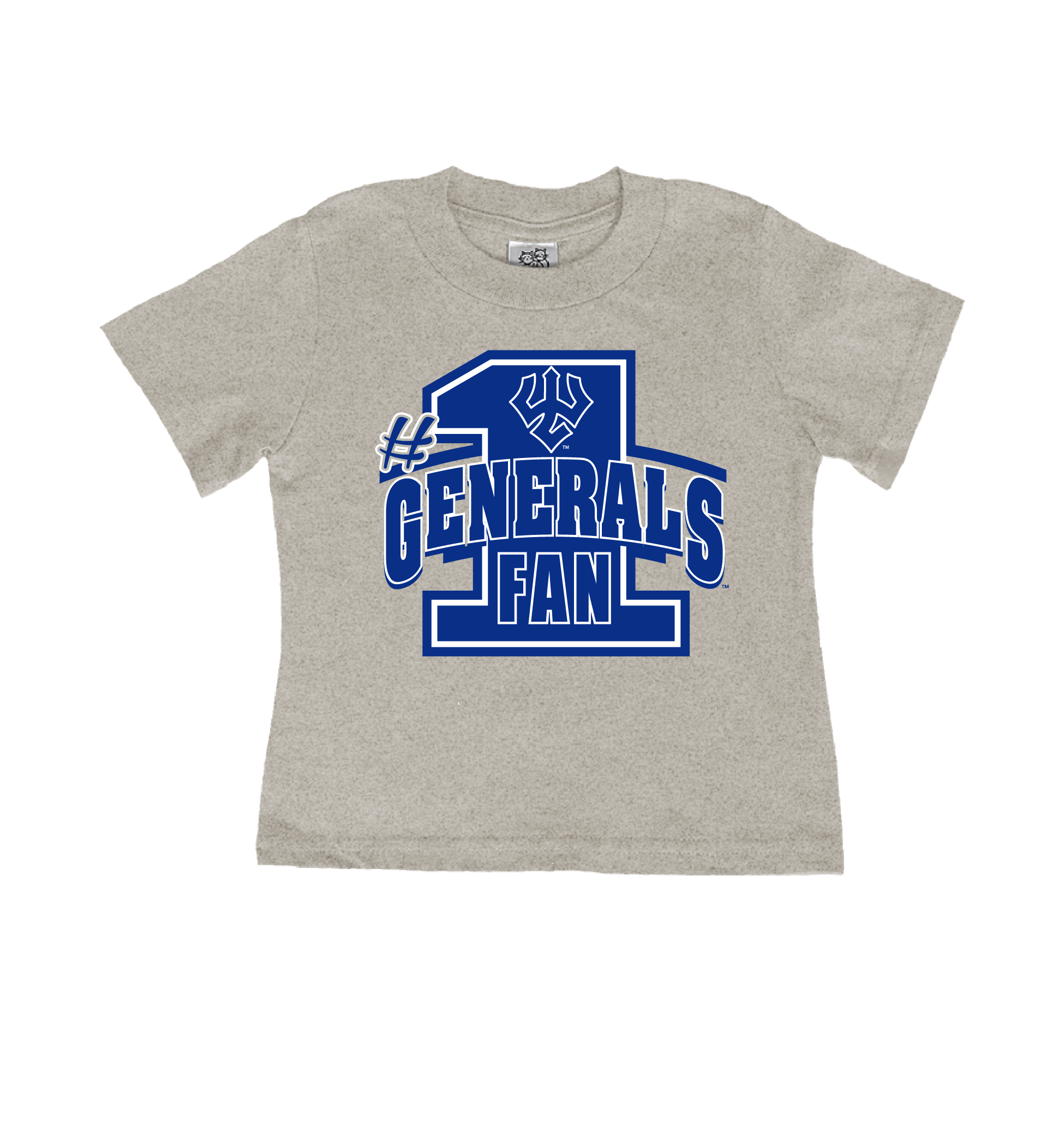 Image For Generals Fan Tee, Toddler