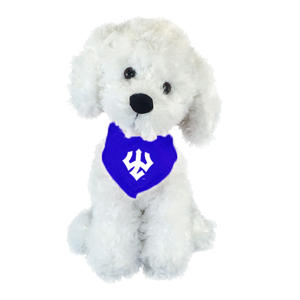Image For Bichon Frise Mighty Tykes Plush