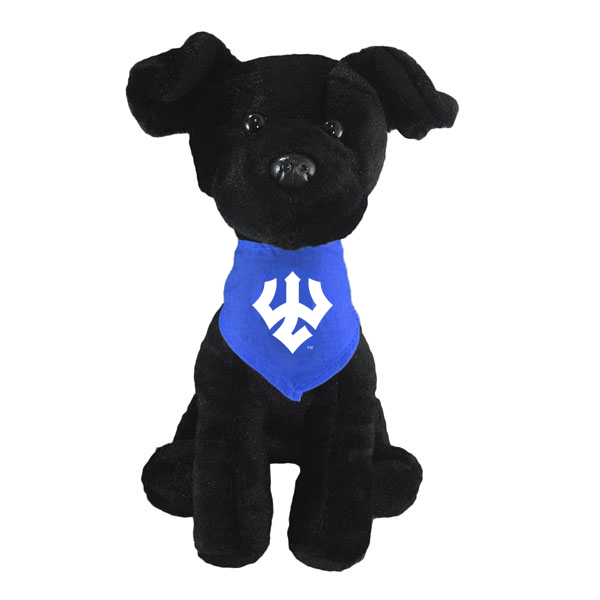 Image For Black Lab Mighty Tykes Plush