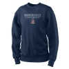 Cover Image for V-Neck Sweater with Wordmark, Navy