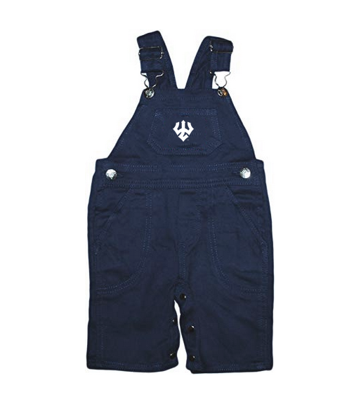 Image For Creative Knitwear Bib Overall, Navy or Royal