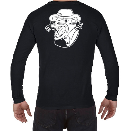 Image For Rugby Comfort Colors Long Sleeve Tee