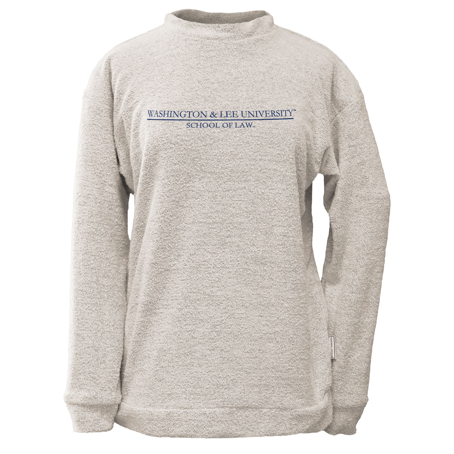 Image For Woolly Threads Law Crew Sweater