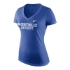 Cover Image for Nike Tri-Blend V-Neck Tee, Navy or Royal