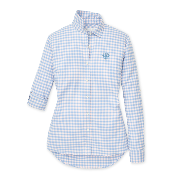 Image For Peter Millar Cottage Blue Button-down Shirt