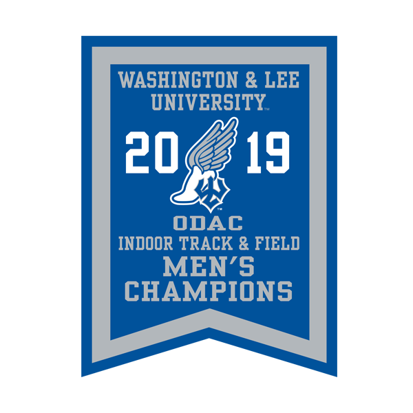 Image For 2019 Men's Indoor Track Banner