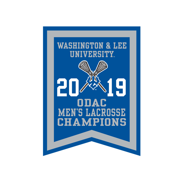 Image For 2019 ODAC Men's Lacrosse Banner