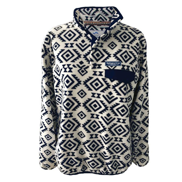 Cover Image For Tribal 1/4 Snap Fleece