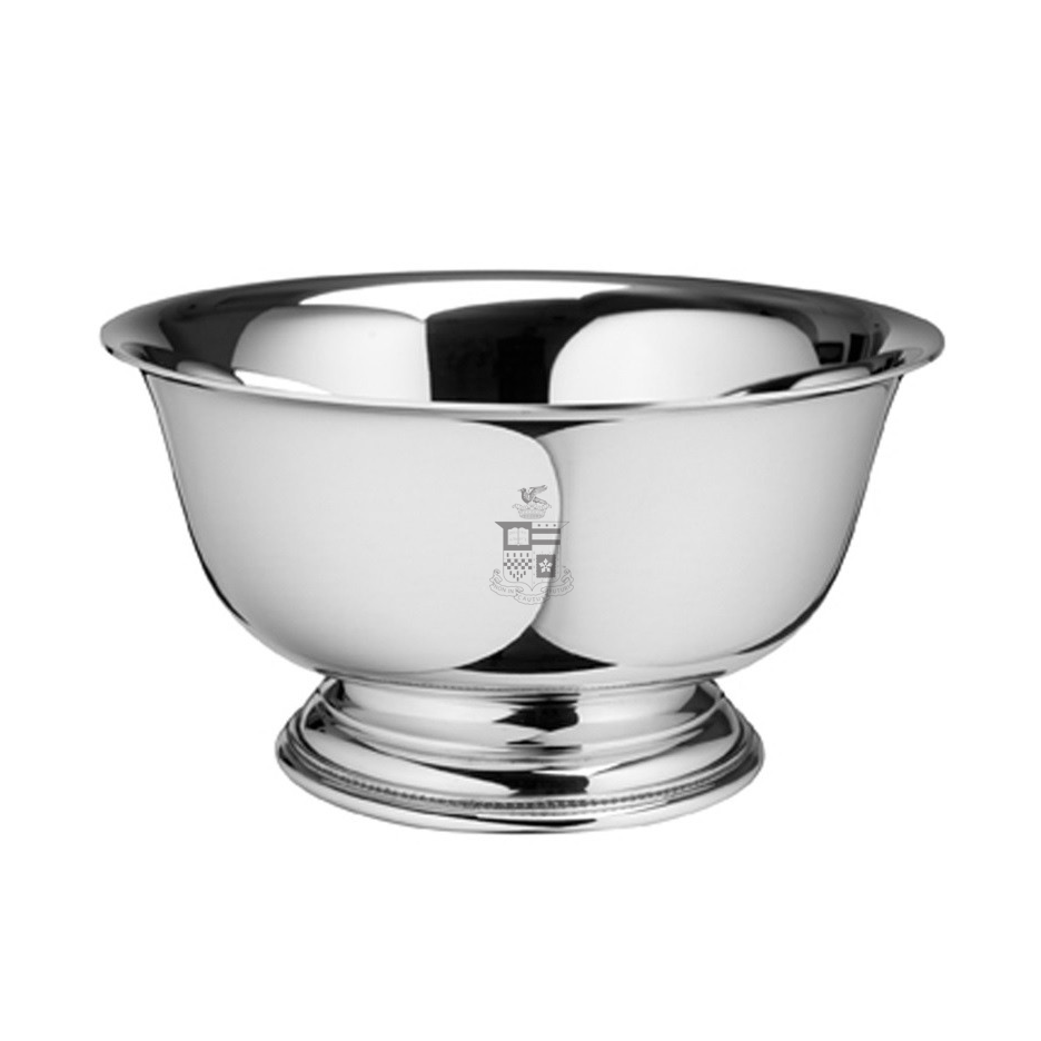 "Image For Salisbury Pewter Revere 7"" Bowl, Crest"
