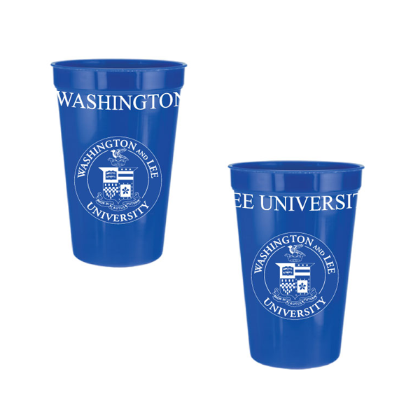 Image For Classic Crest Stadium Cup, Navy, Royal or White