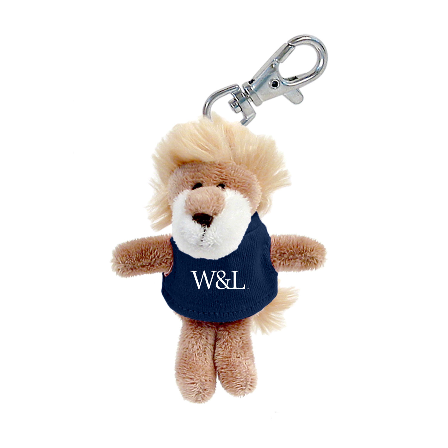 Image For Lion Plush Keychain