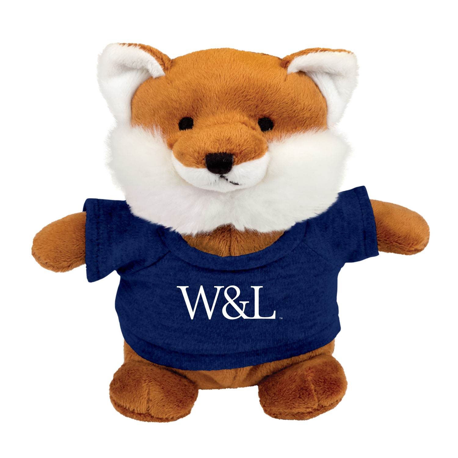 Image For Fox Bean Bag Plush
