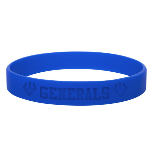 Cover Image For Generals Silicone Bracelet