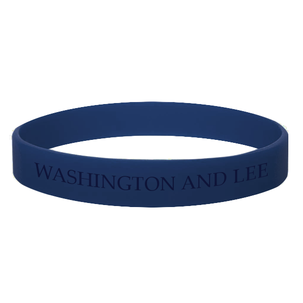 Image For Washington and Lee Silicone Bracelet