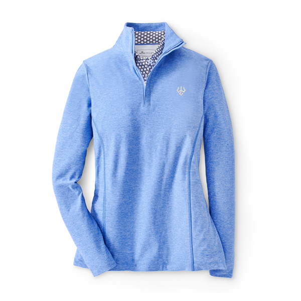 Image For Peter Millar Melange Perth 1/4 Zip