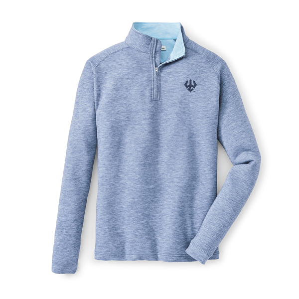 Image For Peter Millar Dri-Release Natural Touch Stretch Terry 1/4 Zip