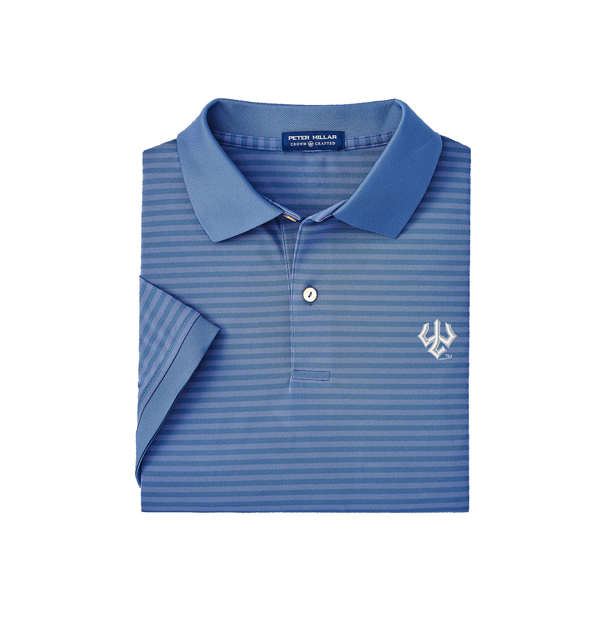 Cover Image For Peter Millar Crown Crafted Stripe Polo