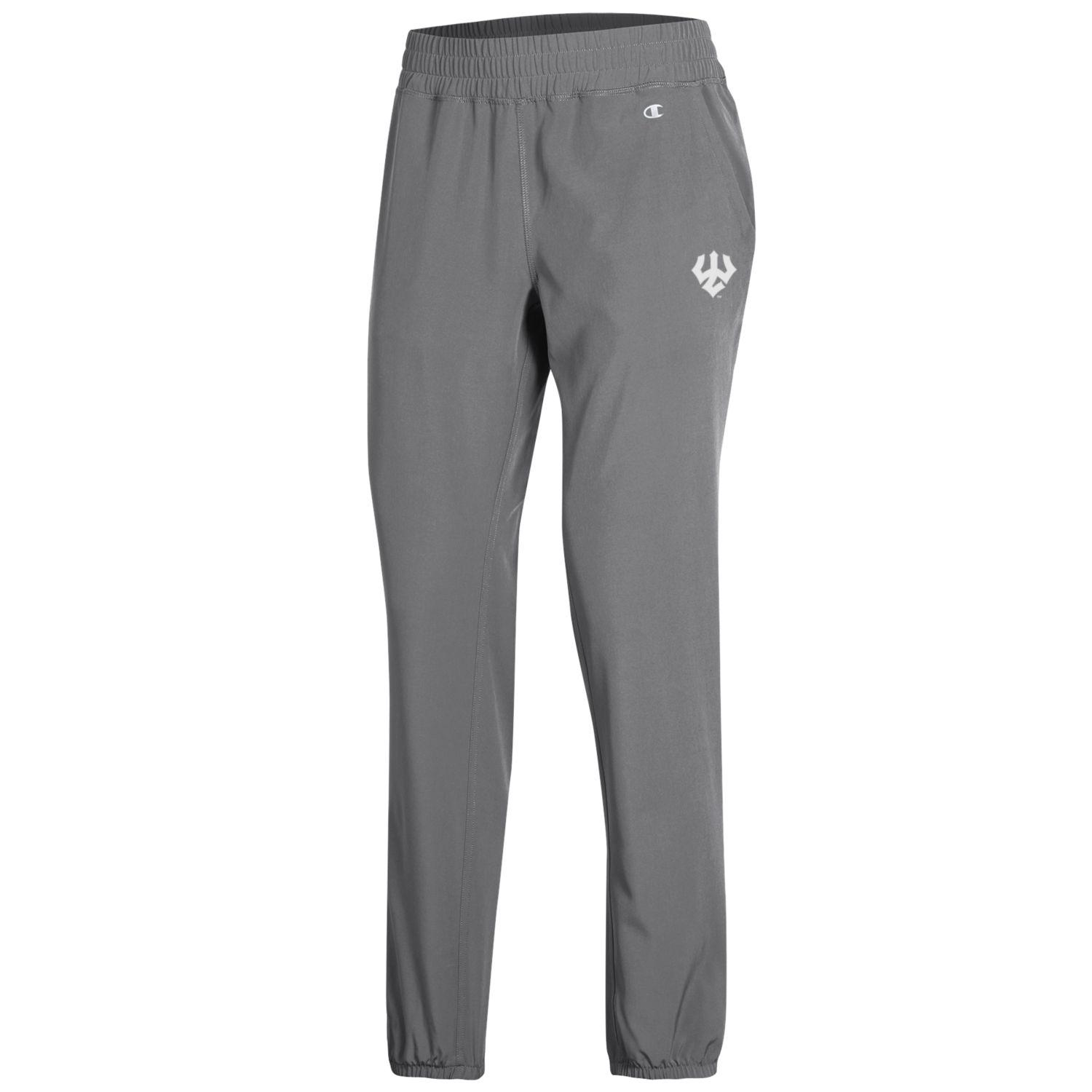 Image For Champion Closed Bottom Team Pants, Black or Grey
