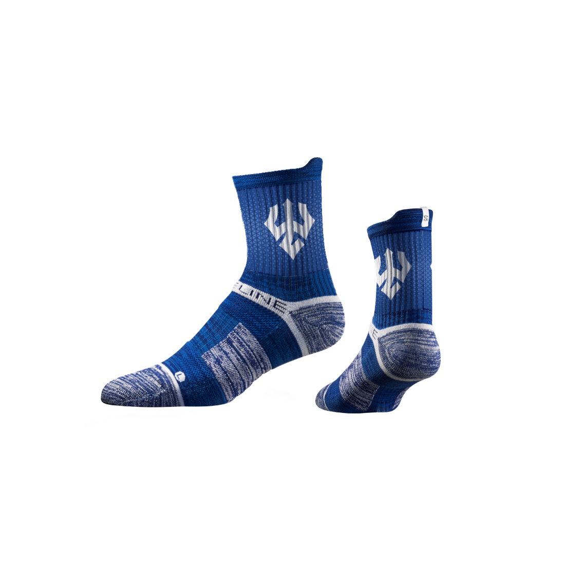 Image For Strideline Mid-Rise Sock