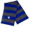 Cover Image for Striped Rugby Scarf, Navy or Royal
