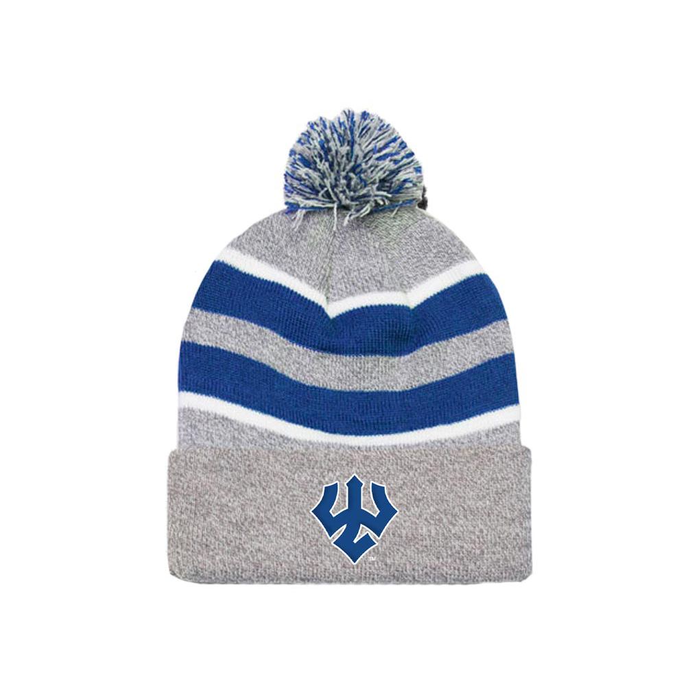 Image For Pompom Knit Hat