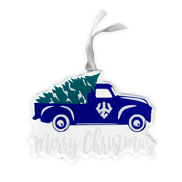 Image For Acrylic Truck Ornament
