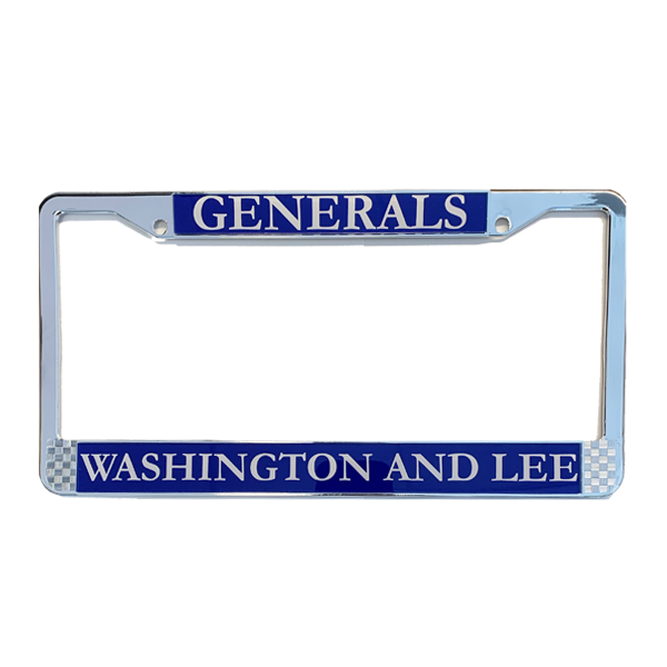 Image For Generals License Plate Frame