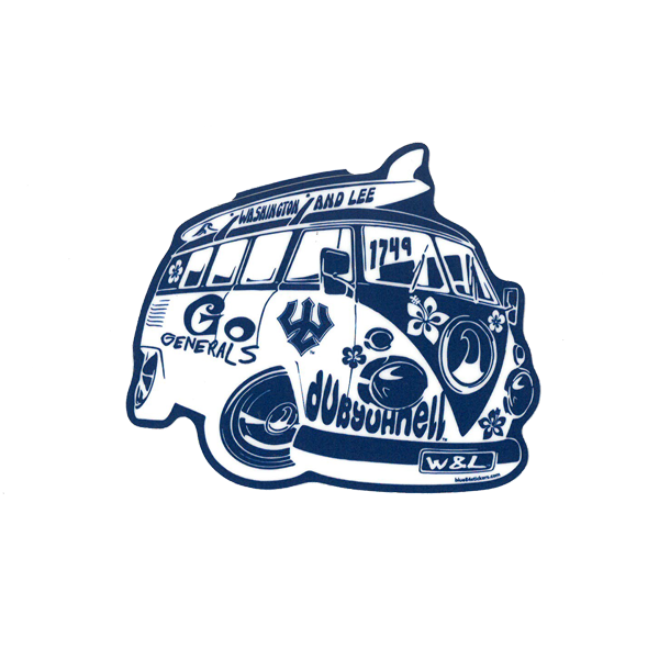 Image For Retro Bus Decal