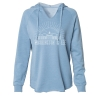 Cover Image for Uscape Washed Skyline Hoodie, Blue or Sage