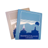 """Cover Image for Samsill 1"""" Three-Ring Binder, Blue or Grey"""