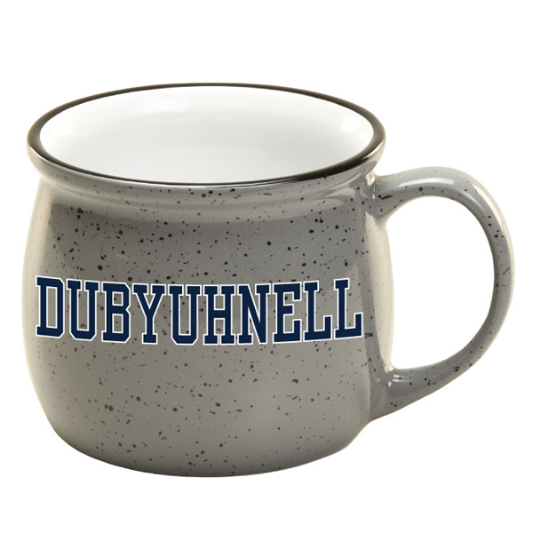 Image For Speckled Dubyuhnell Ceramic Mug