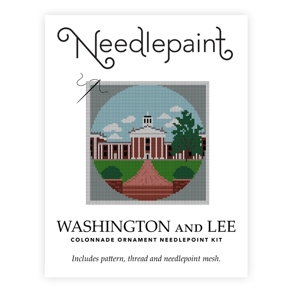 Image For Needlepaint Colonnade Needlepoint Ornament Kit