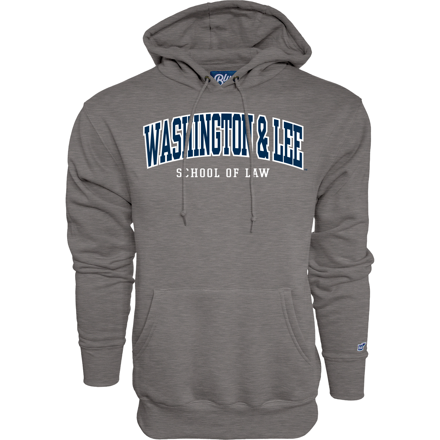 Image For Blue 84 School of Law Hoodie