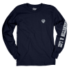 """Cover Image for Blue 84 """"Dubyuhnell"""" Long Sleeve Tee"""